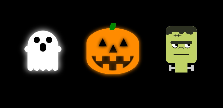 Ashley Sheridan - One Div CSS Halloween Spooks and Ghouls