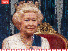 Queens Diamond Jubilee Mosaic
